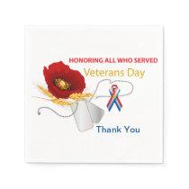 Veterans Day Napkin