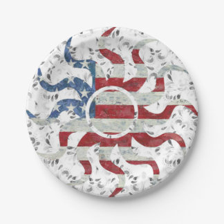 Veterans Day Paper Plate
