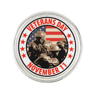 Veterans Day Pin