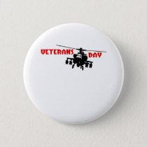 Veteran's Day Pinback Button