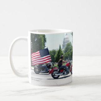 Veterans Day Respect Motorcycle coffee mug