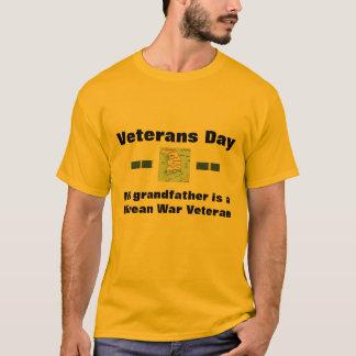 Veterans Day t-shirt Korean Veteran my grandfather