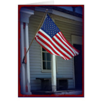 Veterans Day, Thank You Military Greeting Card
