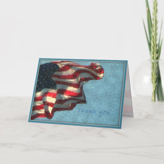 veterans day thank you  military greeting card  zazzle