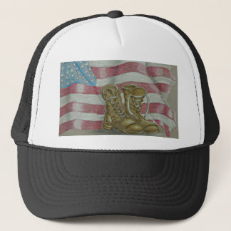 veteran's day trucker hat