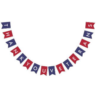Veterans Day Typography American Flag Colors