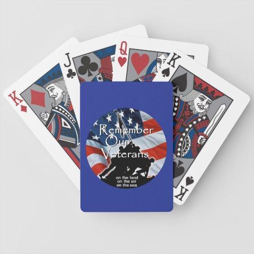 VETERANS DECK OF CARDS