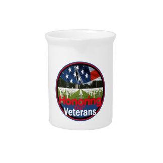 Veterans Drink Pitcher