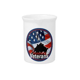Veterans Drink Pitchers
