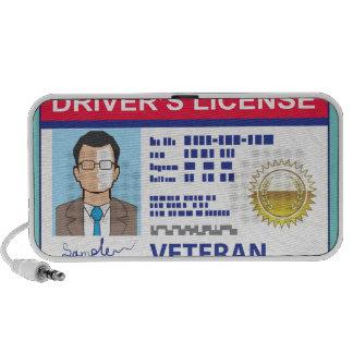 Veterans Driver's License Mini Speaker