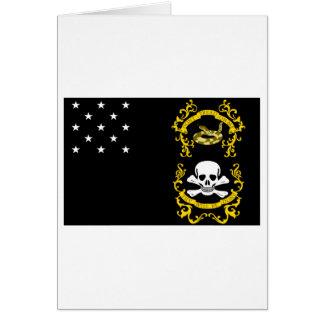 Veterans Exempt Flag Greeting Cards