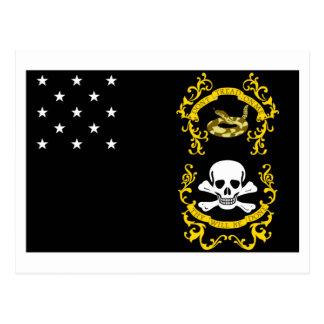 Veterans Exempt Flag Postcard