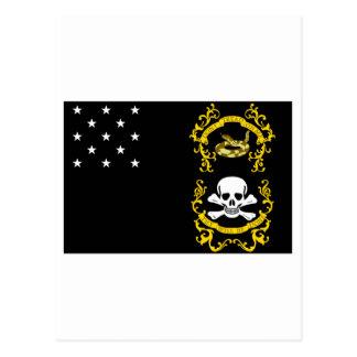 Veterans Exempt Flag Postcards