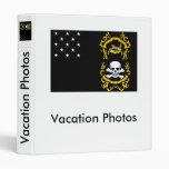 Veterans Exempt Flag Vinyl Binders