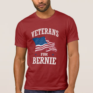 VETERANS FOR BERNIE SANDERS T-Shirt