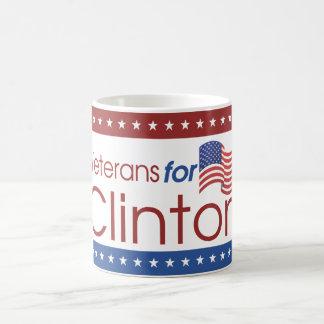 Veterans for Clinton Coffee Mug