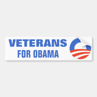 Veterans for Obama 2012 Bumper Sticker