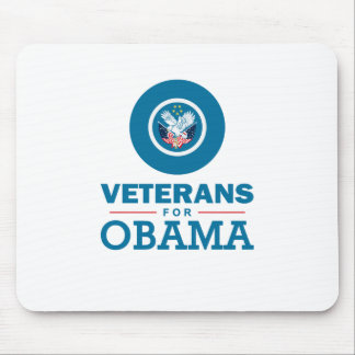 Veterans for Obama Mouse Pad