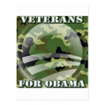 Veterans for Obama Post Cards