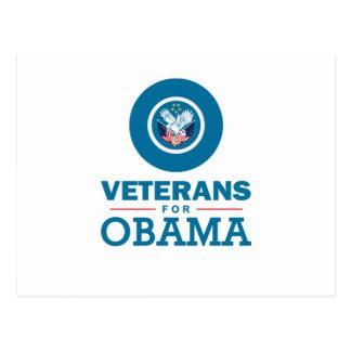 Veterans for Obama Postcard