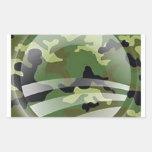 Veterans for Obama Rectangular Sticker