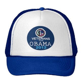 VETERANS for OBAMA Trucker Hats