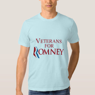 VETERANS FOR ROMNEY.png Shirts