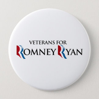 VETERANS FOR ROMNEY RYAN.png Pinback Button