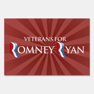 VETERANS FOR ROMNEY RYAN -.png Yard Signs
