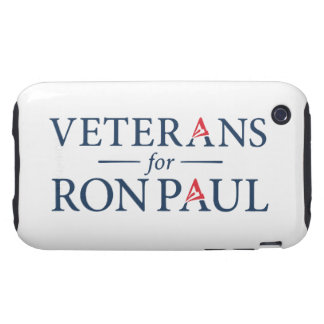 Veterans For Ron Paul iPhone 3 Tough Covers