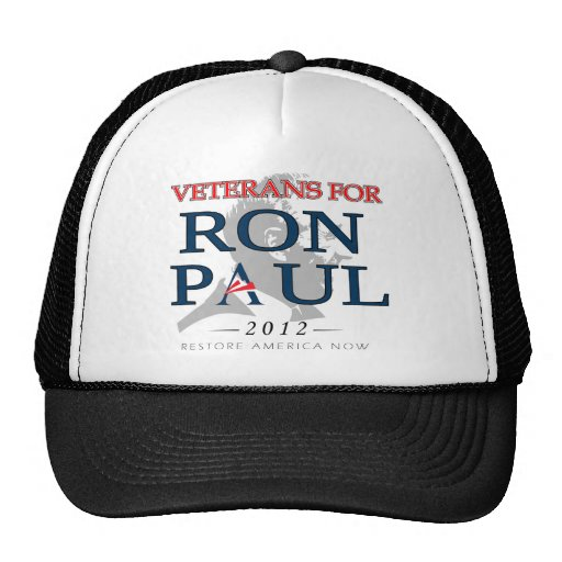 Veterans for Ron Paul.png Trucker Hat