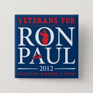 Veterans for Ron Paul Retro Button