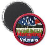 Veterans Fridge Magnet