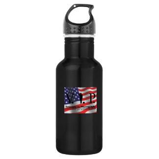 Veterans In Photography (V.I.P.) 18oz Water Bottle