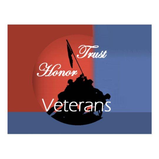 Veterans Postcard