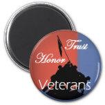 Veterans Refrigerator Magnet