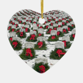 "Veterans ""Remembered"" Christmas Tree Ornament"