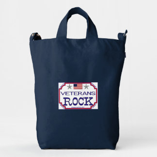 Veterans Rock Duck Bag