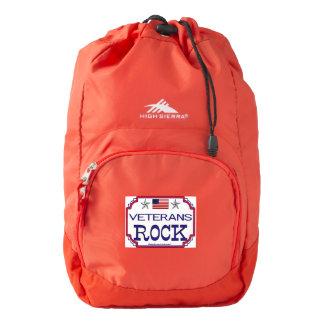 Veterans Rock High Sierra Backpack