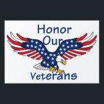 "Veterans Sign<br><div class=""desc"">Honor Remember Veterans Air Force Navy Army Marine War Military Coast Guard Memorial Boulder</div>"