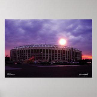 Veterans Stadium's Last Night Poster