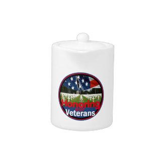 Veterans Teapot