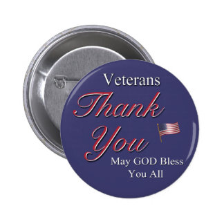 Veterans, Thank You, Pin
