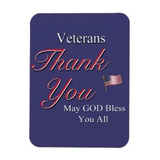 Veterans, Thank You, Magnet