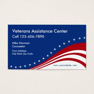 Veterans Themed Business Card