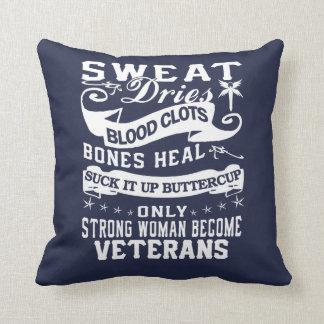 Veterans Throw Pillow