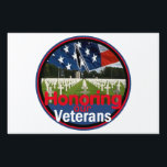 "Veterans Yard Sign<br><div class=""desc"">Remember Veterans Air Force Navy Army Marine War Military Coast Guard Memorial Honor Boulder</div>"
