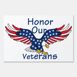 Veterans Lawn Signs