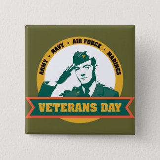 Veterens Day Button