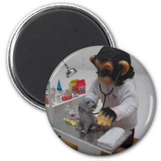 Veterinarian 2 Inch Round Magnet
